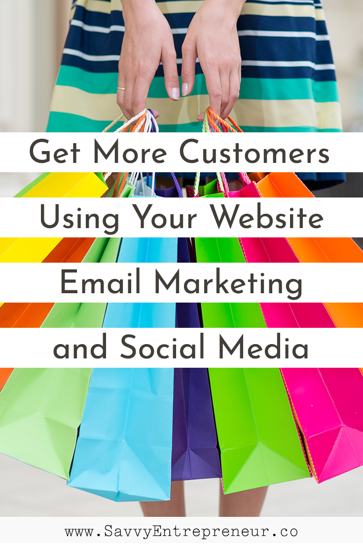 how to get more customers to my website